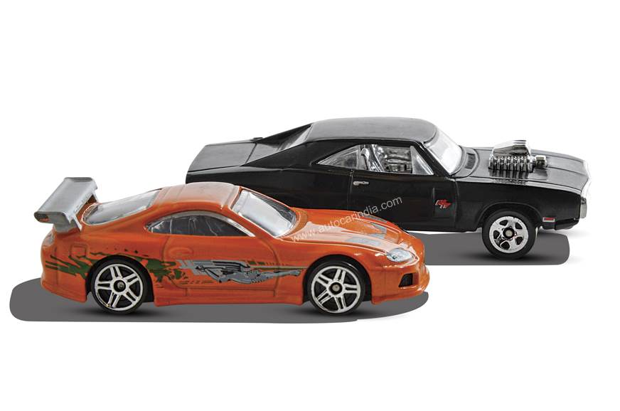 Fast and the Furious 1:64: Naturally, movie replicas are ...