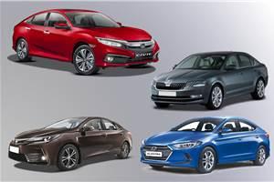 2019 Honda Civic vs rivals: Price, specifications comparison