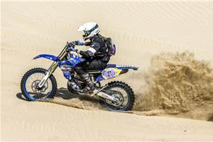 Aishwarya Pissay successfully completes Round 1 of FIM Bajas World Cup