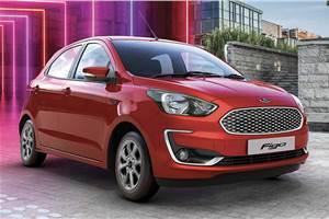 India-spec Ford Figo facelift, Figo Blu revealed