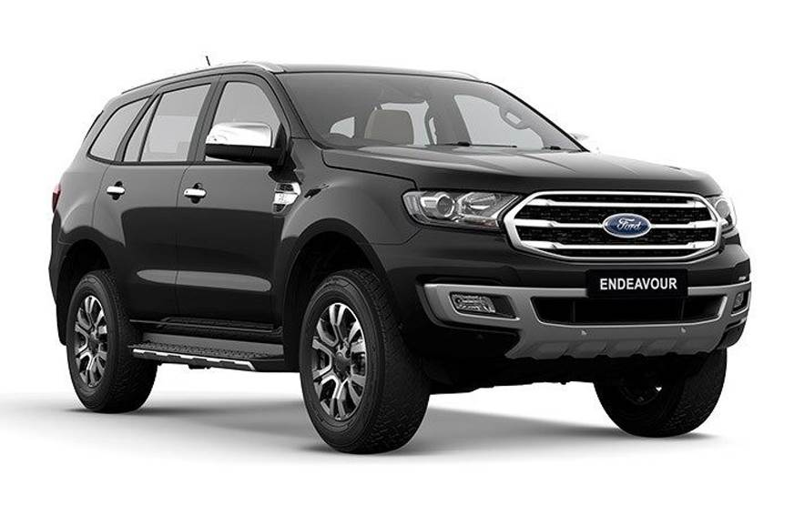 2019 Ford Endeavour facelift accessories pricing revealed