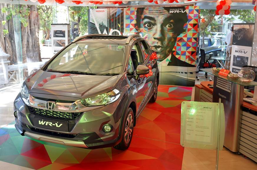 Save up to Rs 50,000 on the Honda WR-V.