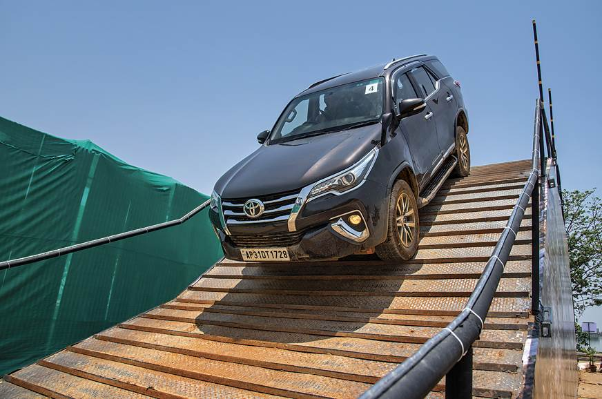 Avail discounts and benefits up to Rs 45,000 on the Toyota Fortuner this month.