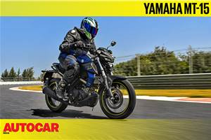 2019 Yamaha MT-15 video review