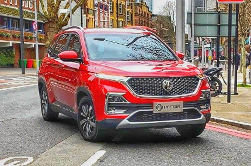 The MG Hector will launch in India later this year.