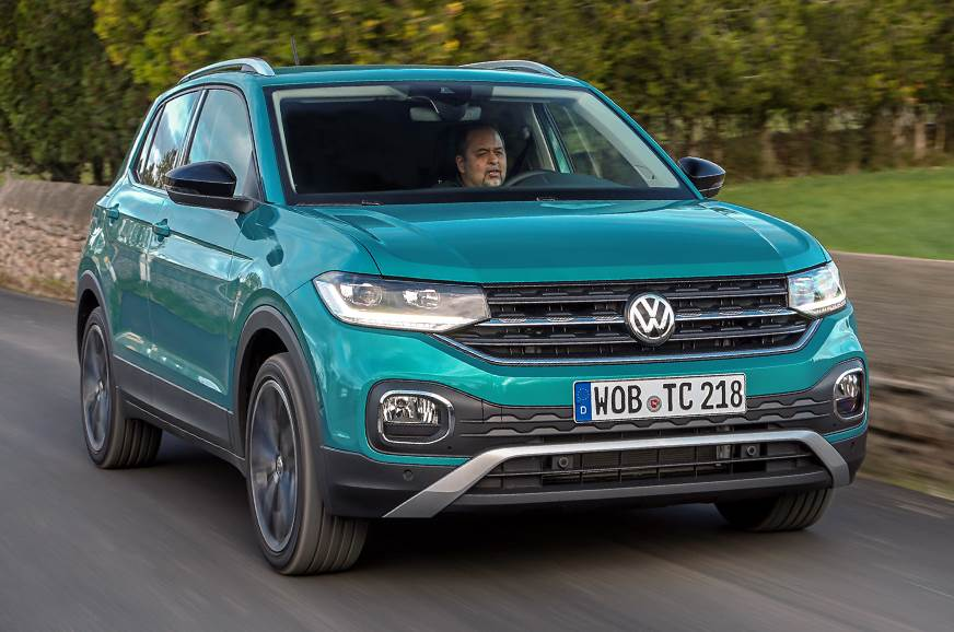 volkswagen t cross suv review test drive of the euro spec. Black Bedroom Furniture Sets. Home Design Ideas