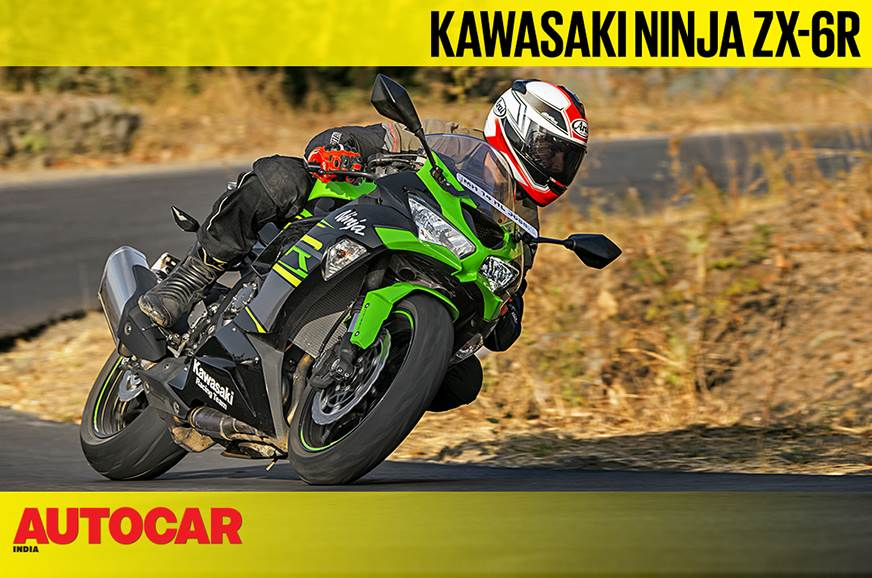 Kawasaki Ninja ZX-6R video review