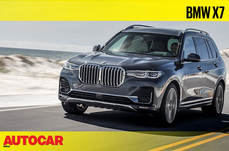 2019 BMW X7 video review