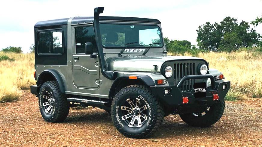 Mahindra Thar Adventure series revealed