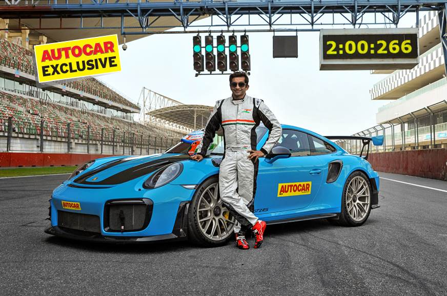 Porsche 911 GT2 RS sets new Buddh lap record
