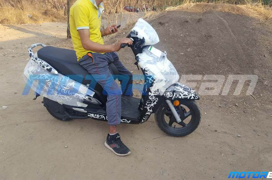 Updated Honda Activa caught testing