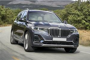 2019 BMW X7 xDrive40i review, test drive
