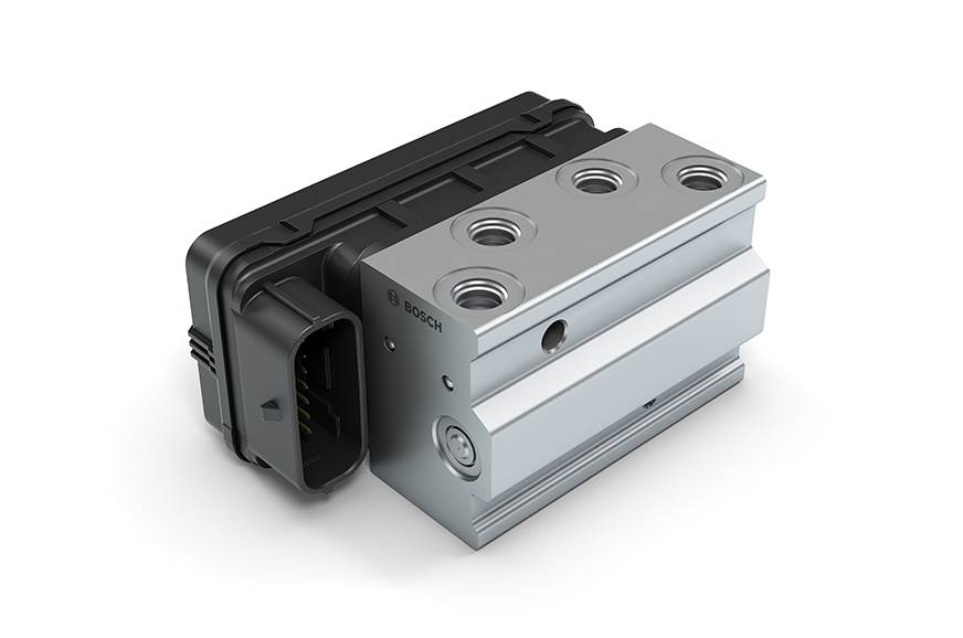 Bosch ABS unit.