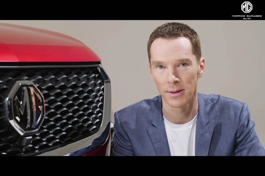 MG Motor signs Benedict Cumberbatch as its brand ambassador