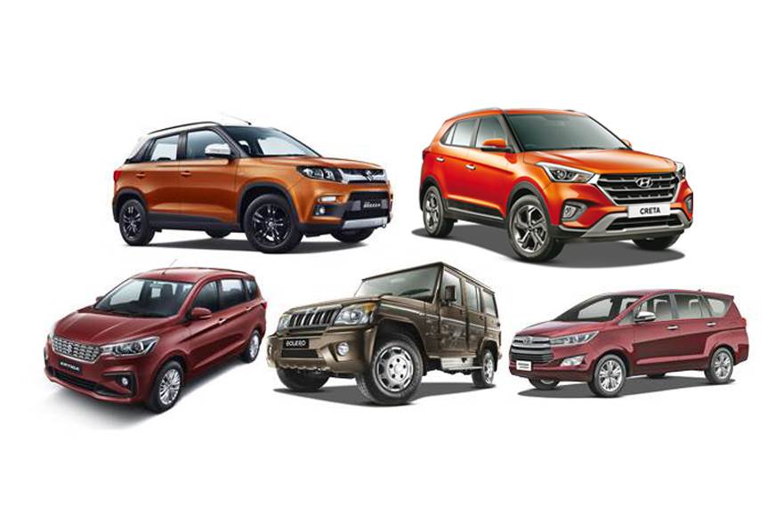 Vitara Brezza, Creta are the bestselling UVs in February 2019