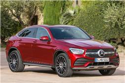 Mercedes-Benz GLC Coupe refreshed for 2019