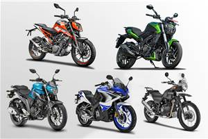 5 best bikes under Rs 2 lakh in India