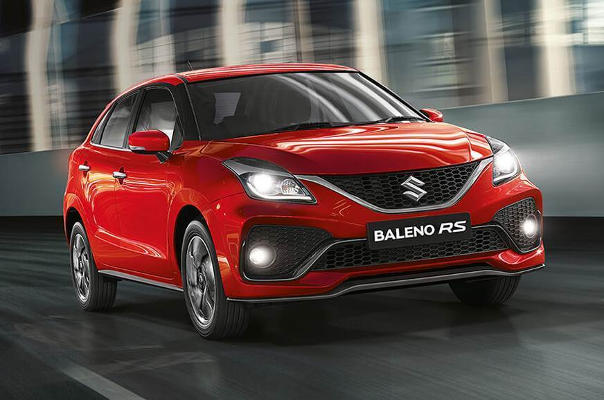 The India-spec Maruti Suzuki Baleno RS.