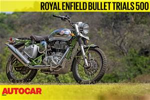 2019 Royal Enfield Bullet Trials 500 video review
