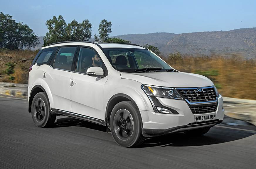 Strong engine makes the XUV500 a capable highway cruiser.