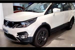 Updated Tata Hexa reaches dealerships