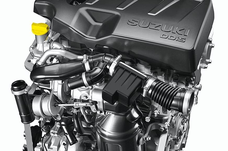 All-new Maruti 1.5-litre diesel engine.