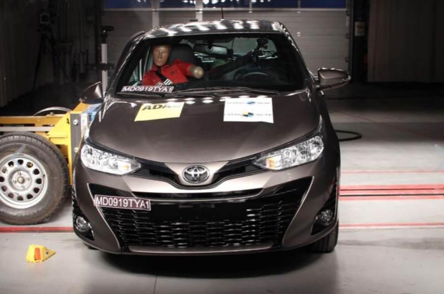Toyota Yaris awarded 4-star Latin NCAP rating