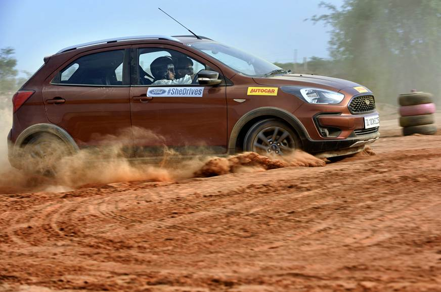 #SheDrives pro-driving school wows Gurugram