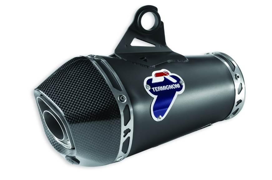 Ducati Monster 797+ Termignoni slip-on exhaust