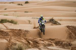 2019 Merzouga Rally: Strong start for Hero and TVS