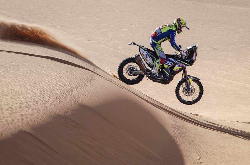 2019 Merzouga Rally: Michael Metge wins Stage 2 for Sherco TVS