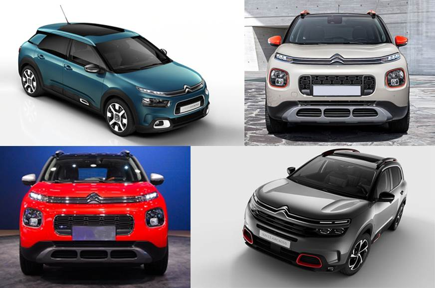 Citroen to launch a new model in India every year from 2021