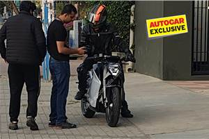 Ultraviolette F77 electric bike caught testing undisguised