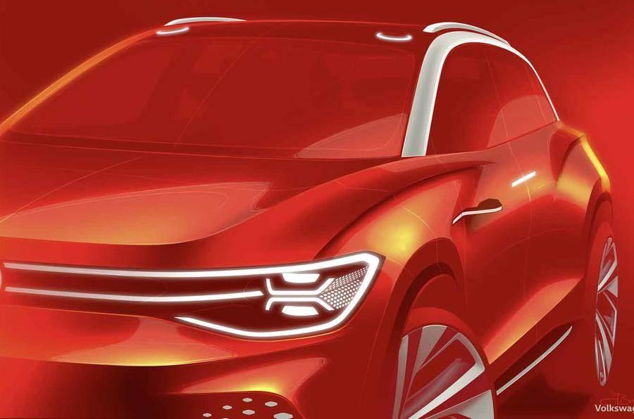 New VW ID Roomzz SUV teased ahead of Shanghai debut