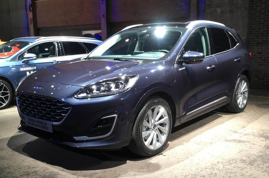 New Ford Kuga SUV revealed