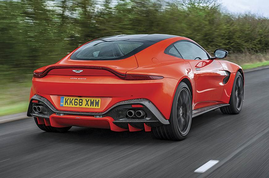 2019 Aston Martin Vantage review, test drive