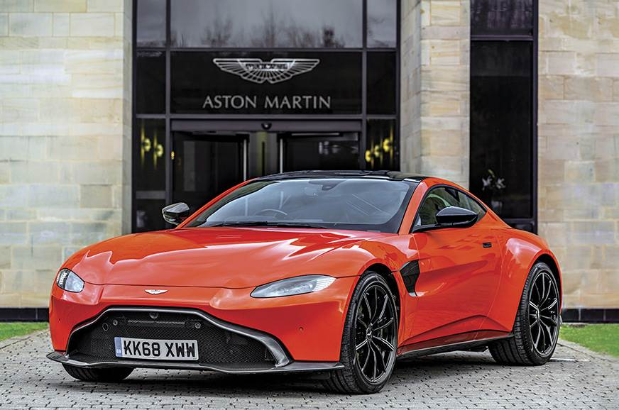 Aston designers call the Vantage the 'hunter' in the fami...