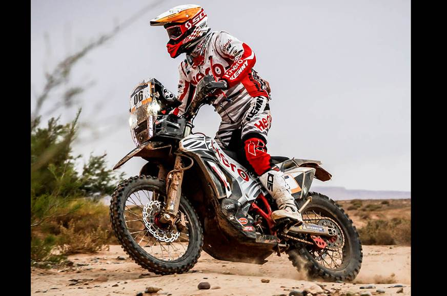 2019 Merzouga Rally, Stage 3: Hero in top 3 while Metge retires