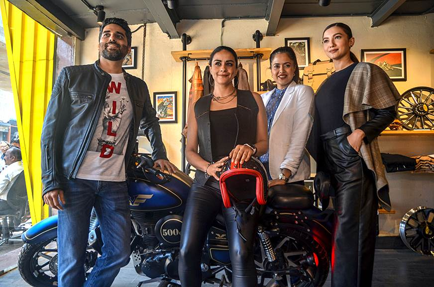 Akshai Varde (Founder and CEO), Gul Panag, Sameera Reddy,...