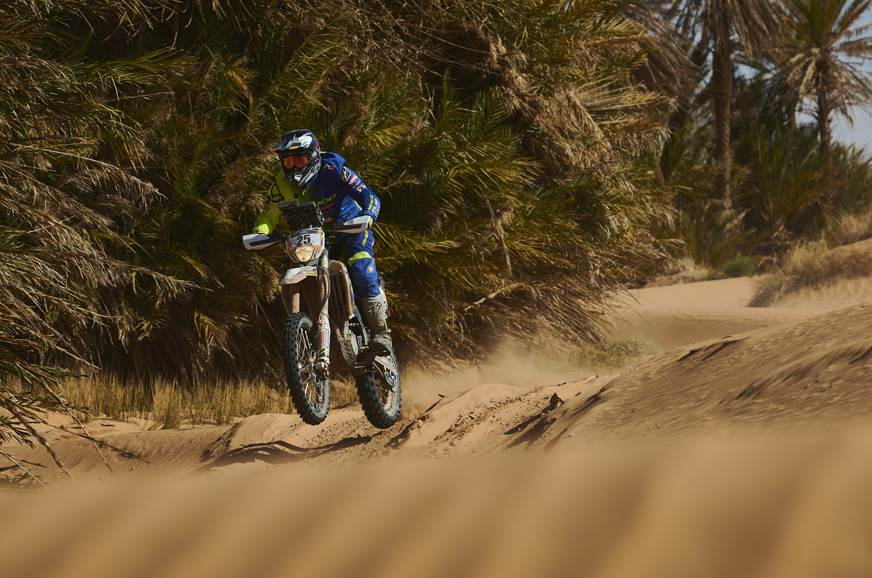 2019 Merzouga Rally, Stage 4: Abdul Wahid Tanveer fastest in Enduro class