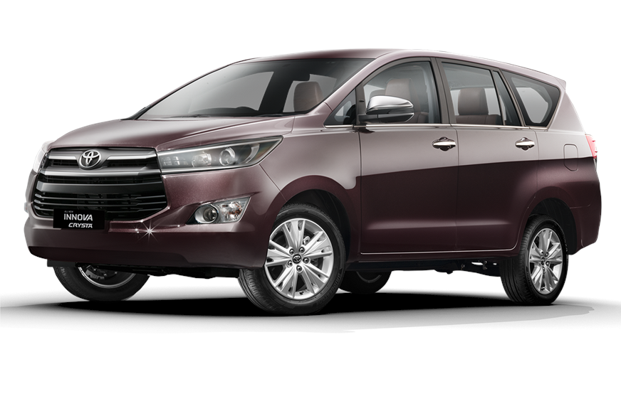 Toyota Innova Crysta sees no exterior or mechanical chang...