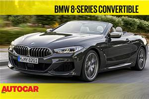2019 BMW 8 Series Convertible video review