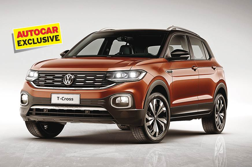 Indian T-Cross will be similar in look to the Brazilian m...