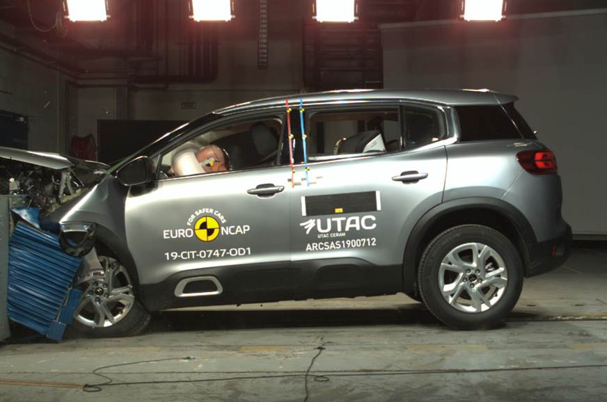 Citroen C5 Aircross awarded 4-star Euro NCAP safety rating