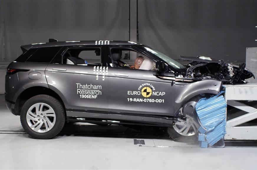 2019 Range Rover Evoque scores 5-star Euro NCAP safety ra...