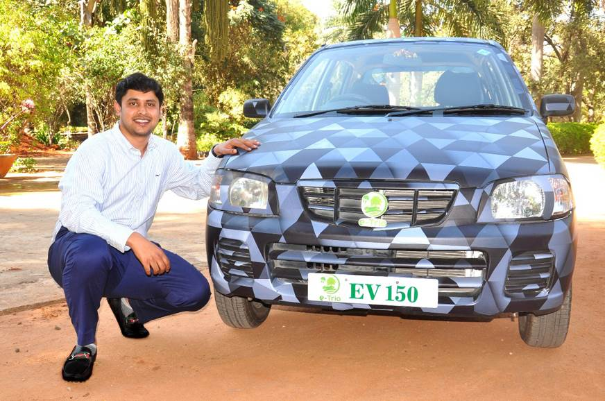 First retrofitted EV in India registered at Telangana RTO