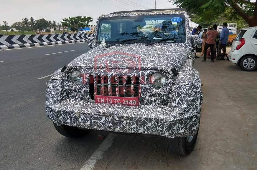 Next-gen Mahindra Thar: New spy shots surface
