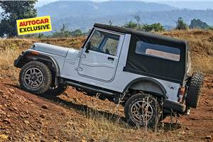 Mahindra Thar special edition with ABS to mark end of current generation