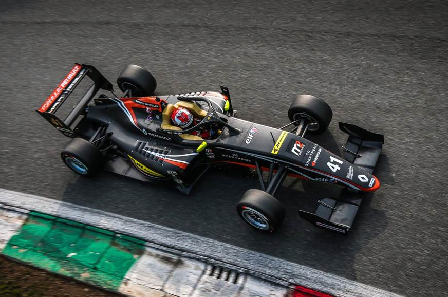 Kush Maini secures podium finish in Formula Renault Eurocup debut