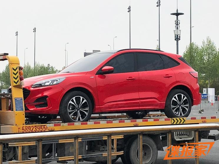 New Ford Escape SUV seen ahead of Shanghai debut